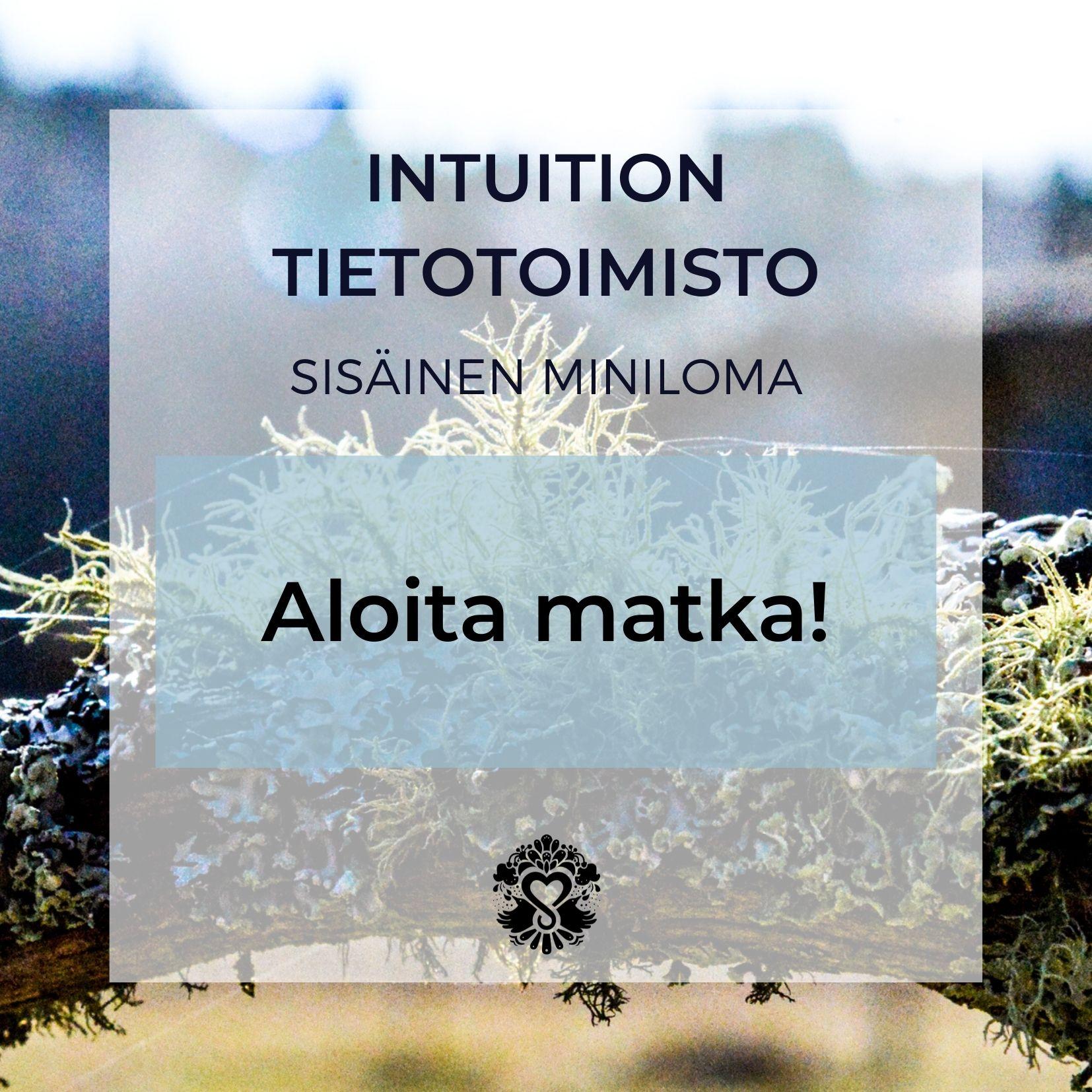 Sisäinen miniloma: Intuition tietotoimisto